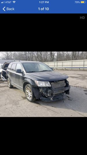 2013 Dodge Journey Sxt 4x4 flex fuel light damage . Runs and drives good only $6995 bo for Sale in Garfield Heights, OH
