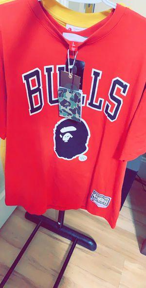 Bape Bulls Shirt for Sale in Foxborough, MA