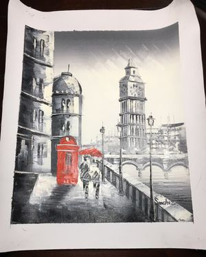 London Canvas Painting for Sale in Nashville, TN