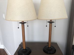TWO LAMPS for Sale in Pacifica, CA