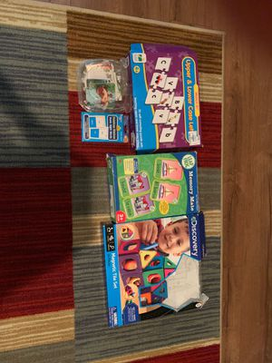 Toddler educational games toys lot for Sale in Las Vegas, NV