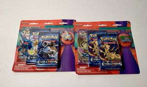 Pokemon Mega Blastoise or Mega Venasaur 3 pack pin blisters for Sale in Ashburn, VA