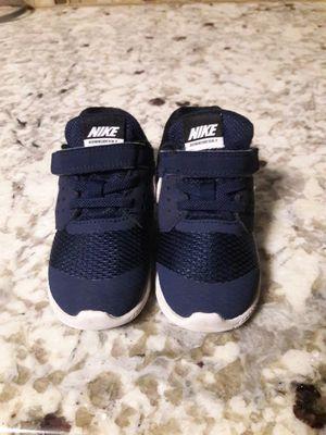 shoes nike size8 little kids 2×$38 for Sale in San Bernardino, CA
