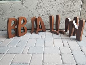 Large Industrial Metal Building Letters for Sale in Scottsdale, AZ