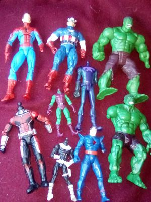 Customizers Figure Lot! Legends, Marvel Select & Universe! for Sale in Lacey, WA