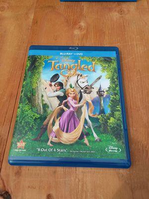 Tangled dvd blue ray disney for Sale in Napa, CA