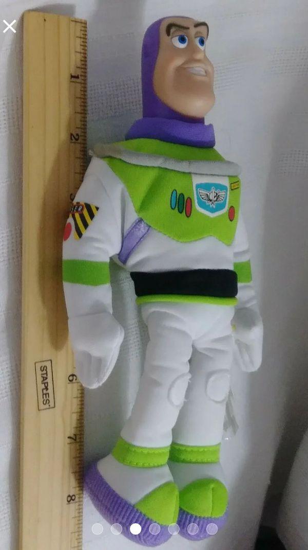 MATTEL Disney Pixar Toy Story 2 BUZZ LIGHTYEAR STAR BEAN Plush Doll