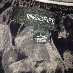 Ring Of Fire [ All Black, White, and Grey] Size; Large for Sale in Raleigh, NC