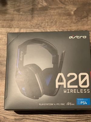 ASTRO A20 WIRELESS HEADSET PS4/PC for Sale in Garland, TX