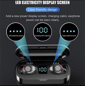 Bluetooth 5.0 Earbuds TWS Wireless Earphones Headset Headphones Power Bank for Sale in Deerfield Beach, FL