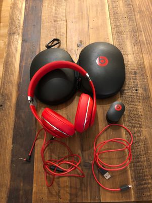 Beats Studio 2 Wired Red for Sale in Manassas, VA