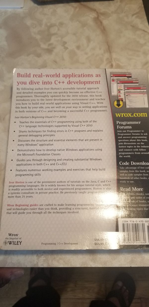 Ivor Horton's Beginning Visual C + + 2010