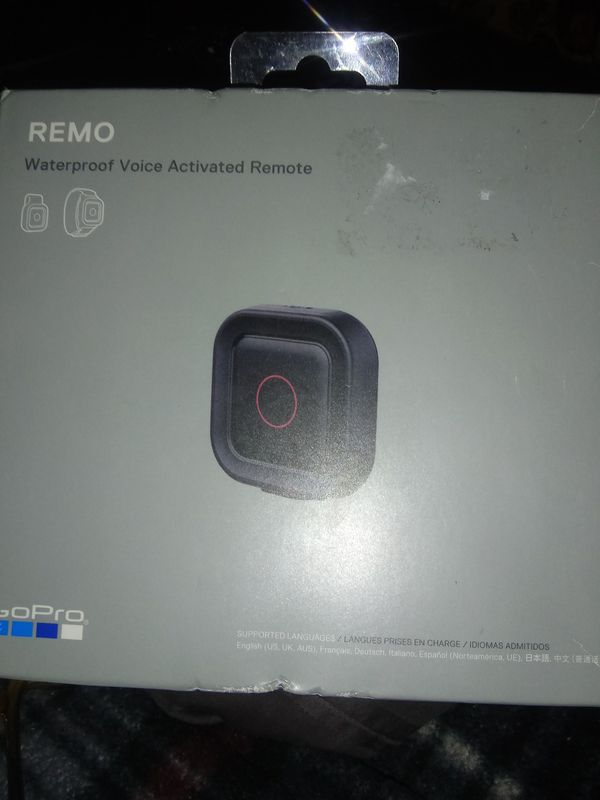 New Go Pro Voice Activated Remote For Hero 5