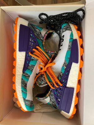 Adidas Pharrell Williams Solar HU NMD Purple Aqua Size 10 for Sale in Pittsburgh, PA