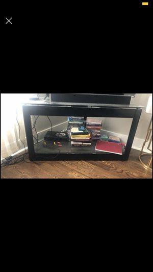 Black tv w/ glass for Sale in Nashville, TN