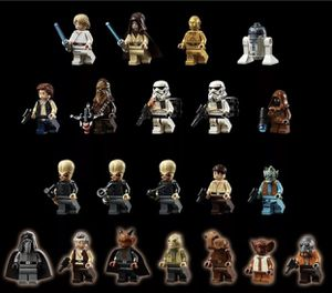 LEGO 75290 STAR WARS Mos Eisley Cantina ALL 21 MINIFIGURES + DEWBACK ONLY for Sale in Irvine, CA