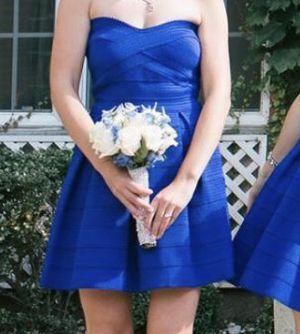 Blue party dress from Express for Sale in Glendale Heights, IL