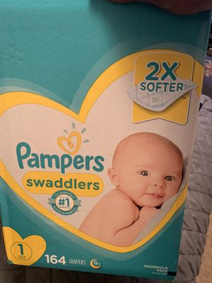Pampers size 1 (164 ct.) for Sale in Durham, NC
