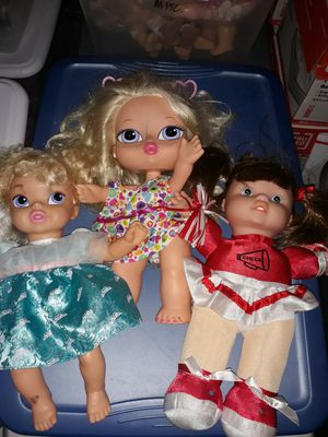 Kids baby dolls 3 of them 10 for all for Sale in San Antonio, TX