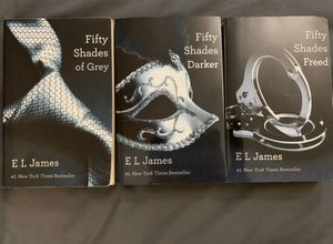 Fifty Shades of Grey Complete Trilogy Set for Sale in Pacifica, CA