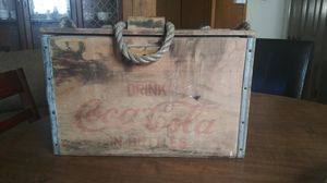 Wooden Coke Cola Ice Chest for Sale in North Little Rock, AR