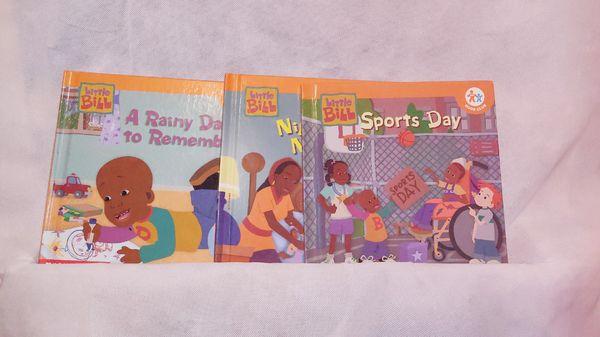 Little Bill Nick Jr Series Scholastic Books Collection 12 paperbacks 3 hardbacks