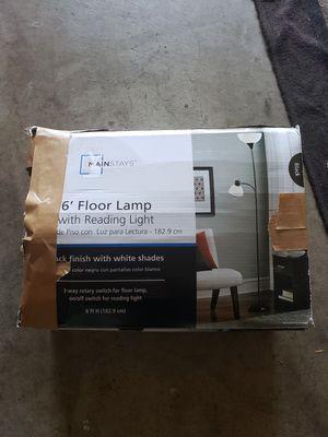 """6""""floor lamp for Sale in Redlands, CA"""
