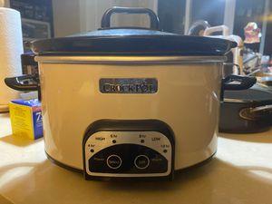 Crock Pot 4-qt digital slow cooker - model SCCPVP400-PY for Sale in Seattle, WA