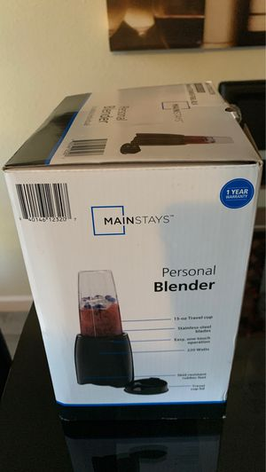 Salen my blender knew I never used.,got home opened it I need bigger one for Sale in Fresno, CA