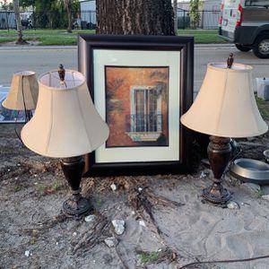 Lamps & Frame for Sale in Miami Gardens, FL