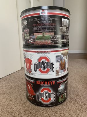 Ohio State tins (3) for Sale in Columbus, OH