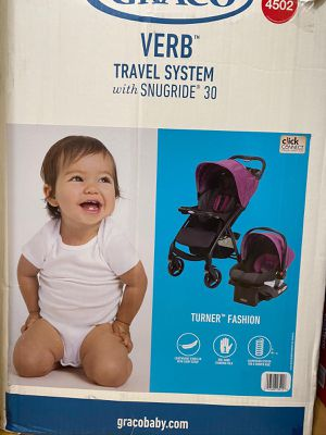 Stroller with car seat and base for Sale in Silver Spring, MD
