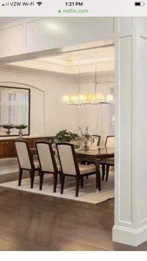 Dining Set. Dining Table Mirror Buffet Chairs for Sale in Bellevue, WA