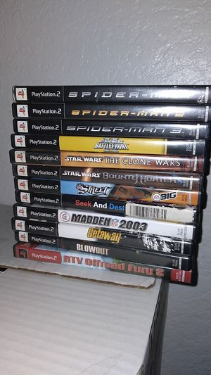 Ps2 games for Sale in Ontario, CA