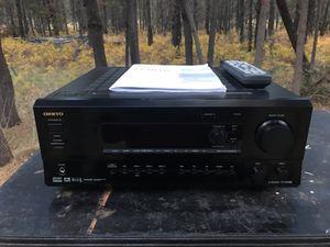 Onkyo AV receiver TX-DS595 for Sale in Bend, OR