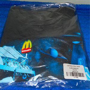 Travis Scott X McDonald's Black Live From Utopia T-Shirt for Sale in Tucker, GA