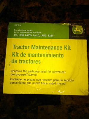 John Deer tractor maintenance kit for Sale in Las Vegas, NV