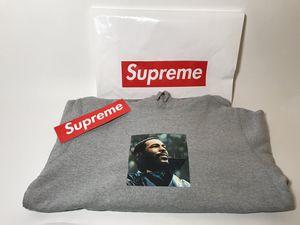 Supreme Marvin Gaye hoodie - Grey - Size M for Sale in Ypsilanti, MI