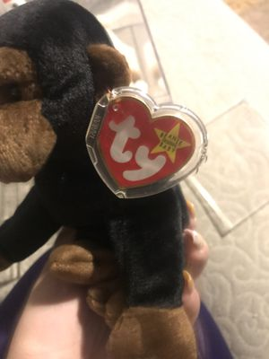 Congo 1996 beanie baby with water mark inside tush tag for Sale in Las Vegas, NV