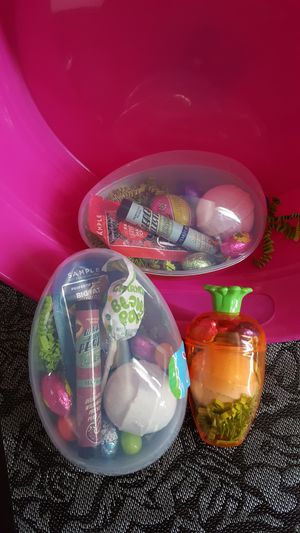 Two Easter eggs filled with posh for Sale in Denver, CO