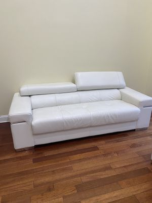Three piece leather couch for Sale in White Plains, NY