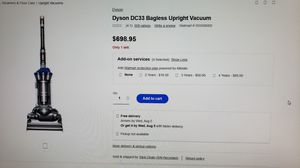 DYSON DC33 VACUUM CLEANER for Sale in Scottsdale, AZ