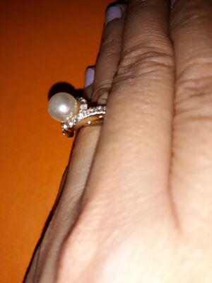 Pearl Ring, Size 6. for Sale in Dallas, TX