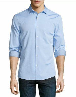 MICHAEL KORS Blue Button Down Dress Shirt Slim Fit SZ: 16.5 32/33 Pre-Owned for Sale in Decatur, GA