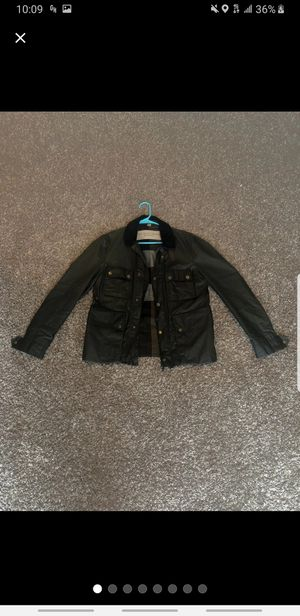 Burberry Leather Jacket Size Small for Sale in Smithtown, NY