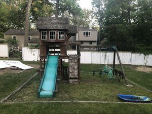 "Kids outdoor swing set ""FREE"" - yours just come and take for Sale in Ashland, MA"
