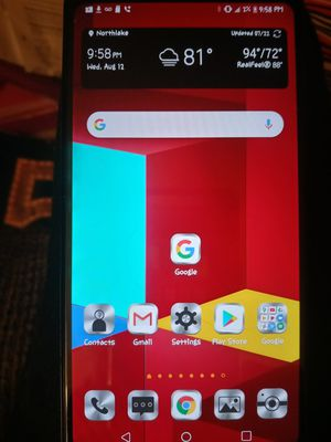 LG STYLO 5.USED 4 MONTHS.CRICKET CARRIER. for Sale in Anderson, SC
