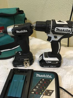 Makita 18V 2pc Set GOOD CONDITION for Sale in Kent, WA