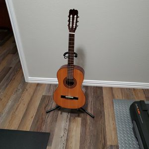 Acoustic Guitar With Stand for Sale in Leander, TX