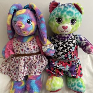 Build A Bear Plushies-Lot Of 2 for Sale in Huntington Beach, CA
